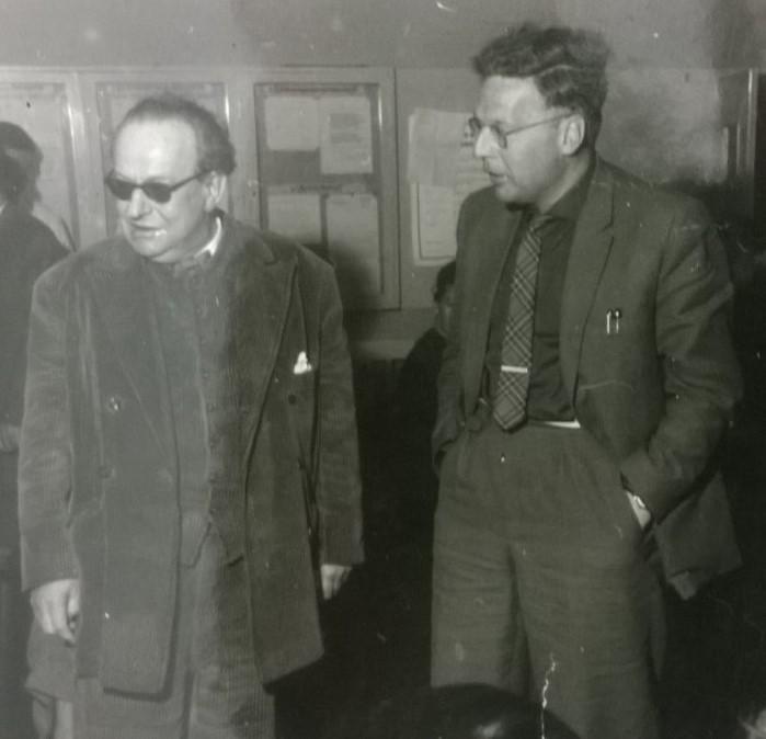 Erwin Sylvanus und HeinzHilpert